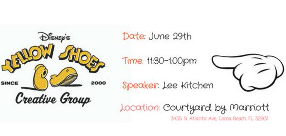 Disney Yellow Shoes Program Event