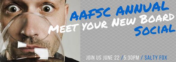 aafsc annual meet your new board social 2017