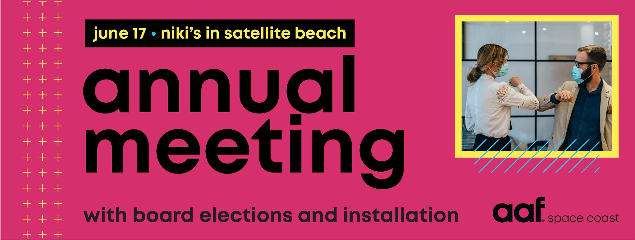 aafsc annual membership meeting graphic